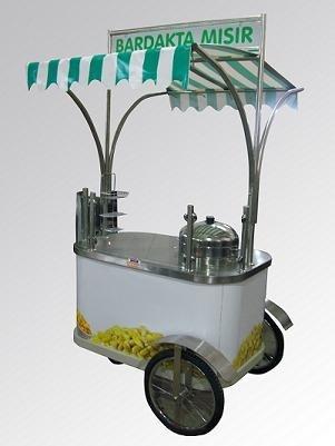 Sweet Corn Food Cart Mavi Alev Industrial Kitchen